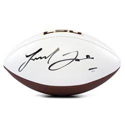 Leonard Fournette Signed LSU Tigers Logo Football (Panini COA)