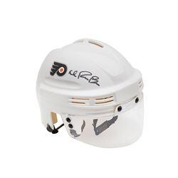 Ivan Provorov Signed Flyers Mini Helmet (UDA COA)