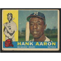 1960 Topps #300 Hank Aaron