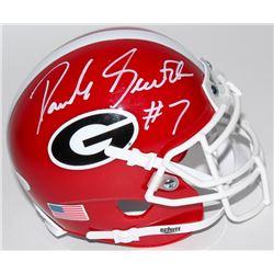 D'Andre Swift Signed Georgia Bulldogs Mini Helmet (JSA COA)