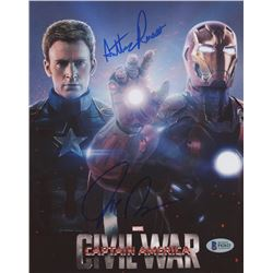 "Anthony  Joe Russo Signed ""Captain America: Civil War"" 8x10 Photo (Beckett Hologram)"