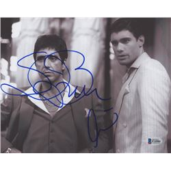 "Al Pacino  Steven Bauer Signed ""Scarface"" 8x10 Photo (Beckett COA)"