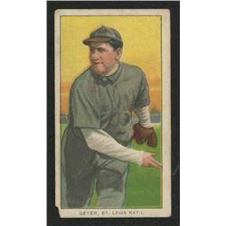 1909-11 T206 #187 Rube Geyer