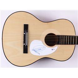 Adam Levine Signed Full-Size Acoustic Guitar (Beckett COA)
