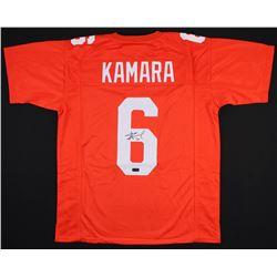 Alvin Kamara Signed Tennessee Volunteers Jersey (Radtke COA)