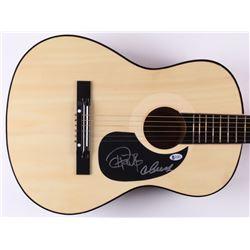Cheech  Chong Signed Full-Size Acoustic Guitar (Beckett COA)