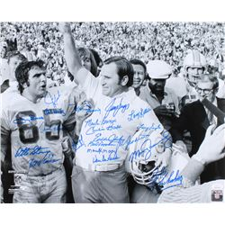 """1972 Dolphins """"Super Bowl VII"""" 16x20 Photo Team-Signed by (20) with Jim Kiick, Dick Anderson, Larry"""