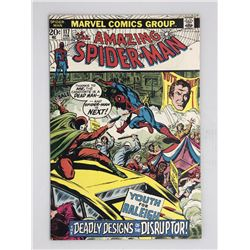 1973 Marvel Amazing Spider-Man #117 1st Series Comic Book