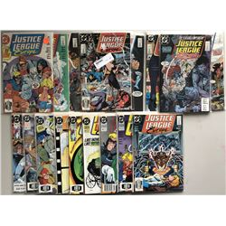 Lot of (70) 1987 Marvel Justice League Comic Books