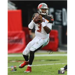 Jameis Winston Signed Buccaneers 16x20 Photo (JSA COA  Winston Hologram)