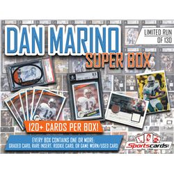 """Dan Marino Super Box"" – 120+ Different Cards Per Box!"