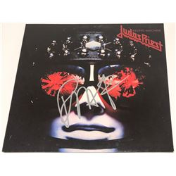 "Rob Halford Signed ""Judas Priest: Killing Machine"" Vinyl Album Cover (PSA COA)"