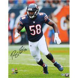 Roquan Smith Signed Bears 16x20 Photo (Beckett COA)