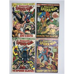 Lot of (4) 1971 Marvel Amazing Spider-Man 1st Series Comic Books with #103, #104, #105, #106