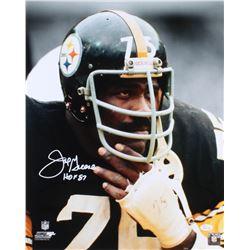 "Joe Greene Signed Steelers 16x20 Photo Inscribed ""HOF 87"" (JSA COA)"