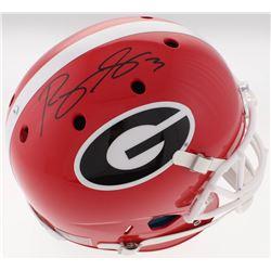 Roquan Smith Signed Georgia Bulldogs Full-Size Helmet (Beckett COA)