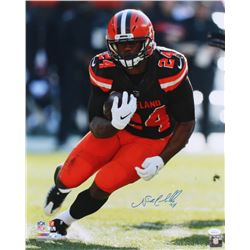 Nick Chubb Signed Browns 16x20 Photo (JSA COA)