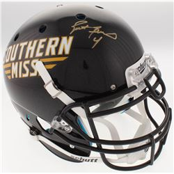 Brett Favre Signed Southern Miss Golden Eagles Full-Size Authentic On-Field Helmet (Radtke COA)