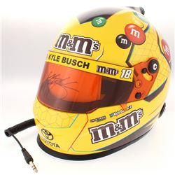 Kyle Busch Signed 2018 NASCAR MM Full-Size Helmet (PA COA)