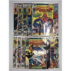 Lot of (13) 1978-79 Marvel Amazing Spider-Man 1st Series Comic Books