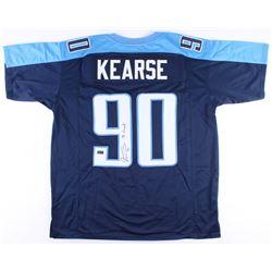 "Jevon Kearse Signed Titans Jersey Inscribed ""The Freak"" (Radtke COA)"