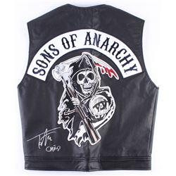 "Tommy Flanagan Signed ""Sons of Anarchy"" Vest Inscribed ""Chibs"" (Radtke COA)"