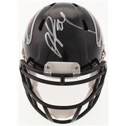 Devonta Freeman Signed Falcons Speed Mini-Helmet (Radtke COA)