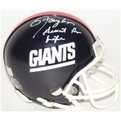 "Lawrence Taylor Signed LE Giants Mini-Helmet Inscribed ""Giant For Life"" (Radtke COA)"