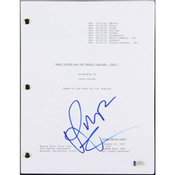 "Rupert Grint Signed ""Harry Potter and the Deathly Hallows- Part 1"" Movie Script (Beckett COA)"