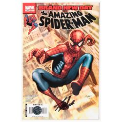 """Stan Lee Signed 2007 """"The Amazing Spider-Man"""" Issue #549 Direct Edition Marvel Comic Book (Lee COA)"""