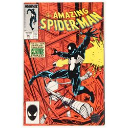 """Stan Lee Signed 1987 """"The Amazing Spider-Man"""" Vol. 1 Issue #291 Marvel Comic Book (Lee COA)"""