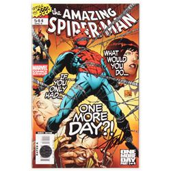 """Stan Lee Signed 2007 """"The Amazing Spider-Man"""" Issue #544 Direct Edition Marvel Comic Book (Lee COA)"""