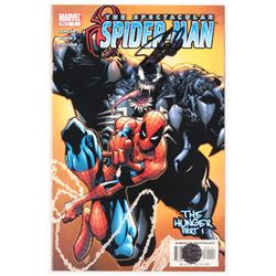 """Stan Lee Signed 2003 """"The Spectacular Spider-Man"""" Volume 1 Issue #1 Direct Edition Marvel Comic Book"""