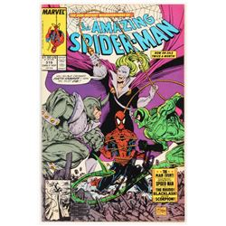 """Stan Lee Signed 1989 """"The Amazing Spider-Man"""" Volume 1 Issue #319 Marvel Comic Book (Lee COA)"""