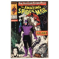 """Stan Lee Signed 1989 """"The Amazing Spider-Man"""" Volume 1 Issue #320 Marvel Comic Book (Lee COA)"""