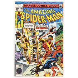 """Stan Lee Signed 1978 """"The Amazing Spider-Man"""" Volume 1 Issue #183 Marvel Comic Book (Lee COA)"""