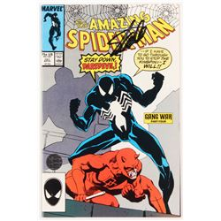 """Stan Lee Signed 1987 """"The Amazing Spider-Man"""" Volume 1 Issue #287 Marvel Comic Book (Lee COA)"""