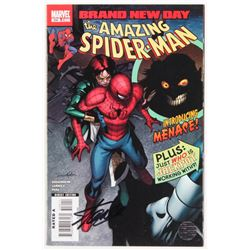 """Stan Lee Signed 2008 """"The Amazing Spider-Man"""" Issue #550 Direct Edition Marvel Comic Book (Lee COA)"""
