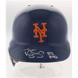 "Darryl Strawberry Signed New York Mets Full-Size Baseball Helmet Inscribed ""83 ROY"" (Radtke COA)"