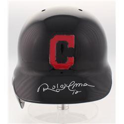 Roberto Alomar Signed Cleveland Indians Full-Size Batting Helmet (JSA COA)