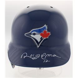 Roberto Alomar Signed Toronto Blue Jays Full-Size Batting Helmet (JSA COA)