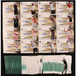 2005 SP Authentic Complete Set of (106) Golf Cards with #93 S.O'Hair AU L2 RC, #100 S.Prammanasudh A