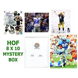 Schwartz Sports Football Hall of Famers Signed Mystery Box 8x10 Photo Series 3 (Limited to 100) - **