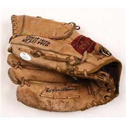 Billy Williams Signed Vintage Rawlings Baseball Glove (JSA COA)