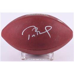 Tom Brady Signed Patriots LE Super Bowl XXXIX Game-Used Football (TriStar Hologram  PSA COA)