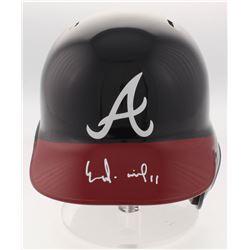 Ender Inciarte Signed Atlanta Braves Full-Size Batting Helmet (Radtke Hologram)