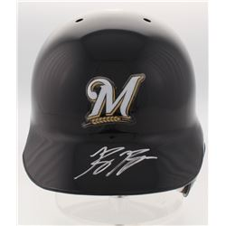 Ryan Braun Signed Milwaukee Brewers Full-Size Batting Helmet (Radtke Hologram)