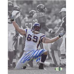 Jared Allen Signed Vikings 8x10 Photo (Allen Hologram)