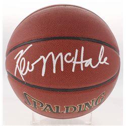 Kevin McHale Signed NBA Basketball (Schwartz Sports COA)