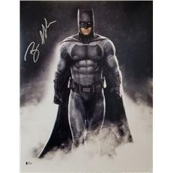 """Ben Affleck Signed """"Batman v Superman: Dawn of Justice"""" 16x20 Photo (Beckett COA)"""
